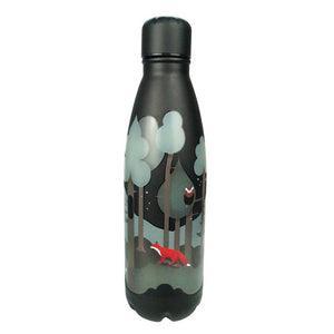 Insulated Water Bottle Thermos Forest