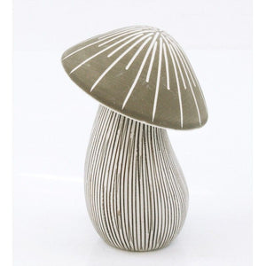 Brown & White Ceramic Mushroom Diffuser (Small)