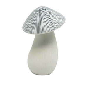 Blue & White Ceramic Mushroom Diffuser (Small)