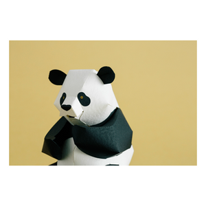 Top to Tail: Panda Paper Model Kit