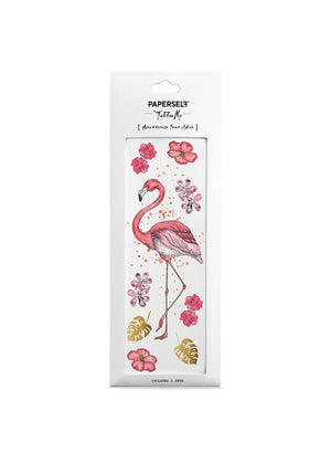 Paperself: Tattoos Flamingo