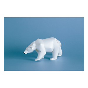 Top to Tail: Polar Bear Paper Model Kit