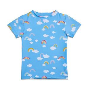 Yellow Jungle: Swim Rash T-Shirt Tropic Magic Rainbow