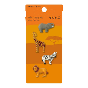 Mini Magnet Set: Safari