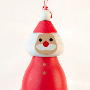 Bell Ornament Santa Claus