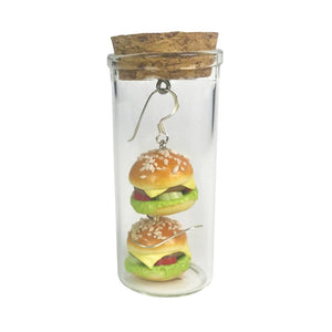 Earrings Hamburger