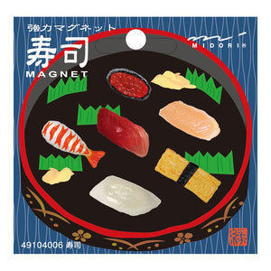 Mini Magnets Set: Sushi 6pk