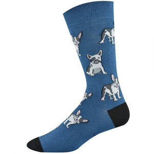 Bamboozld: Men's French Bulldog Socks