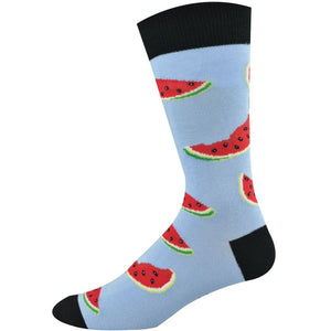 Bamboozld: Mens Watermelon Bamboo Socks