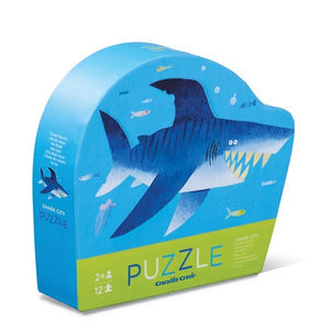 Crocodile Creek: 12pc Mini Puzzle Shark City