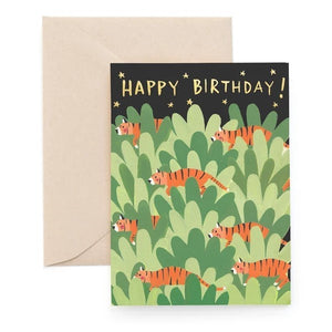 Carolyn Suzuki: Greeting Card Pantera Tigris