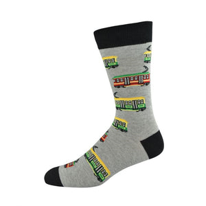 Bamboozld: Mens Trams Bamboo Socks