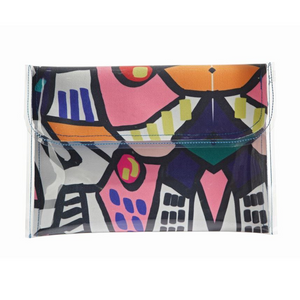 Canvas Large Clutch Tully