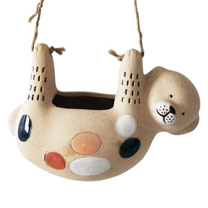 Urban Products: Dog Hanging Planter Retro Sand