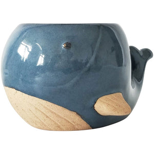 Urban Products: Whale Planter Blue Medium