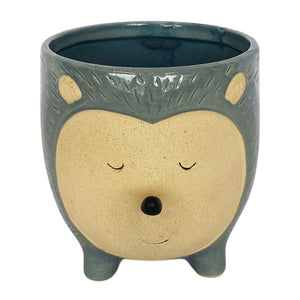 Urban Products: Hedgehog Planter Blue Large