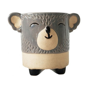 Koala Planter Grey Sand Small
