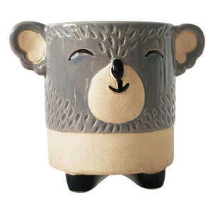 Urban Products: Koala Planter Grey & Sand Medium