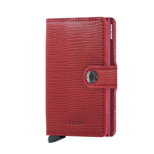 Secrid: Miniwallet Rango Red Leather
