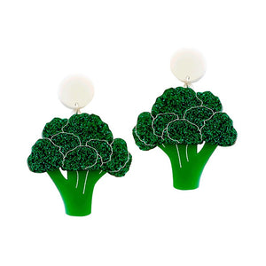 Yippy Whippy: Broccoli Earrings