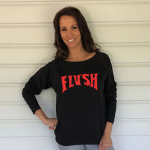 Flush Black Slouch Sweatshirt (Lifestyle)