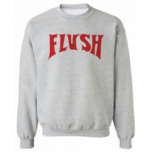 Flush Grey Heavy Blend Sweatshirt