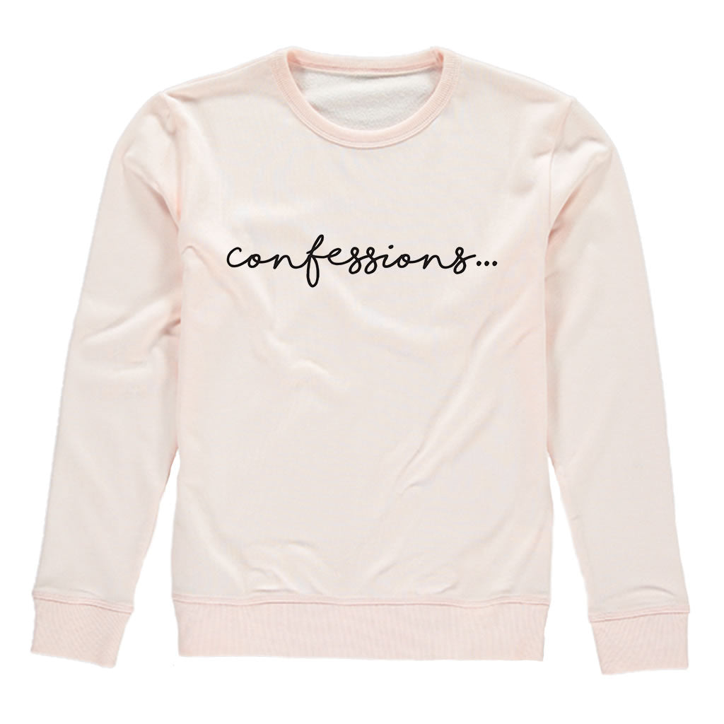 Confessions Pink Heavy Blend Sweatshirt