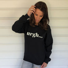 UrghÉ Black Heavy Blend Sweatshirt (Lifestyle)