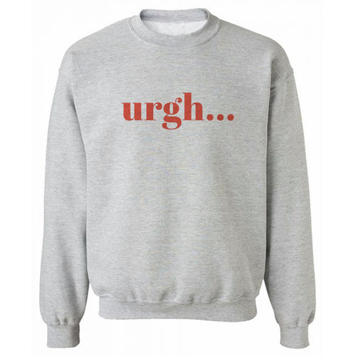 UrghÉ Grey Heavy Blend Sweatshirt