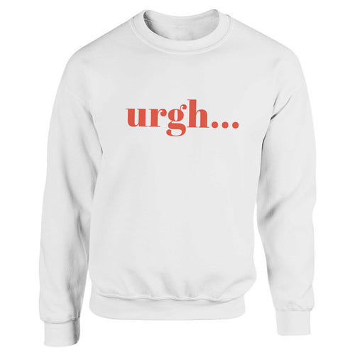 UrghÉ White Heavy Blend Sweatshirt