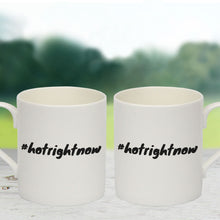 #hotrightnow Bone China Mug (Lifestyle)