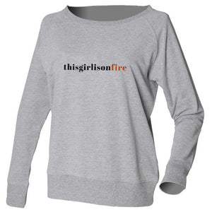 TGIOF Grey Slouch Sweatshirt
