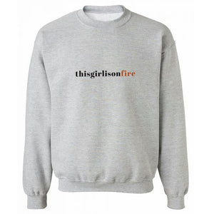 TGIOF Grey Heavy Blend Sweatshirt