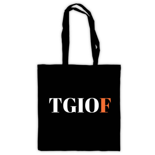 TGIOF  Tote Bag