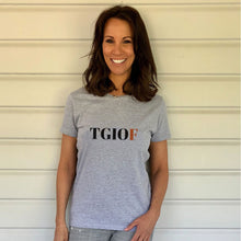 TGIOF Heavy Grey Cotton T-Shirt (Lifestyle)