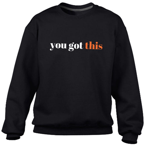 You got this Black Heavy Blend Sweatshirt