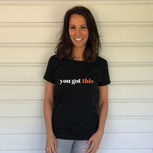 You got this Heavy Black Cotton T-Shirt (Lifestyle)