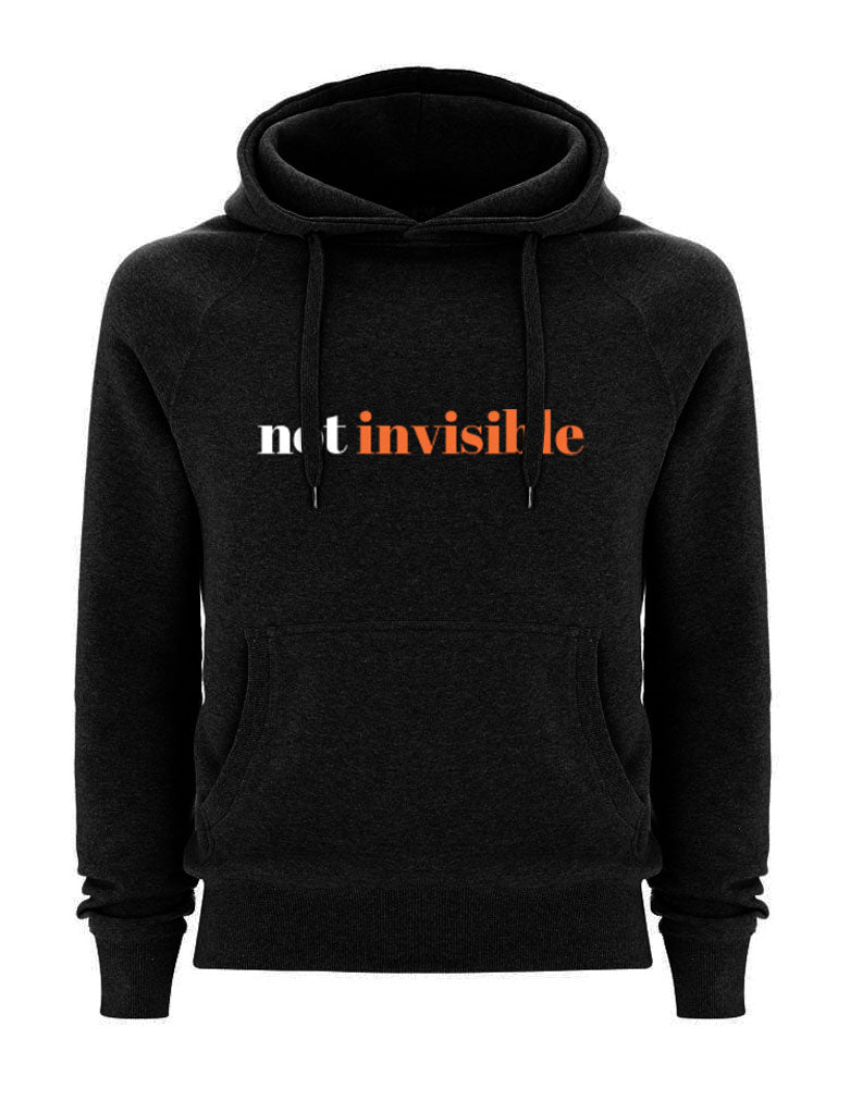 Not Invisible Black Hoodie