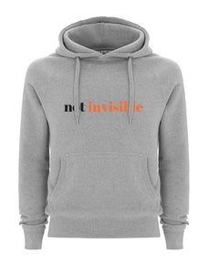 Not Invisible Grey Hoodie