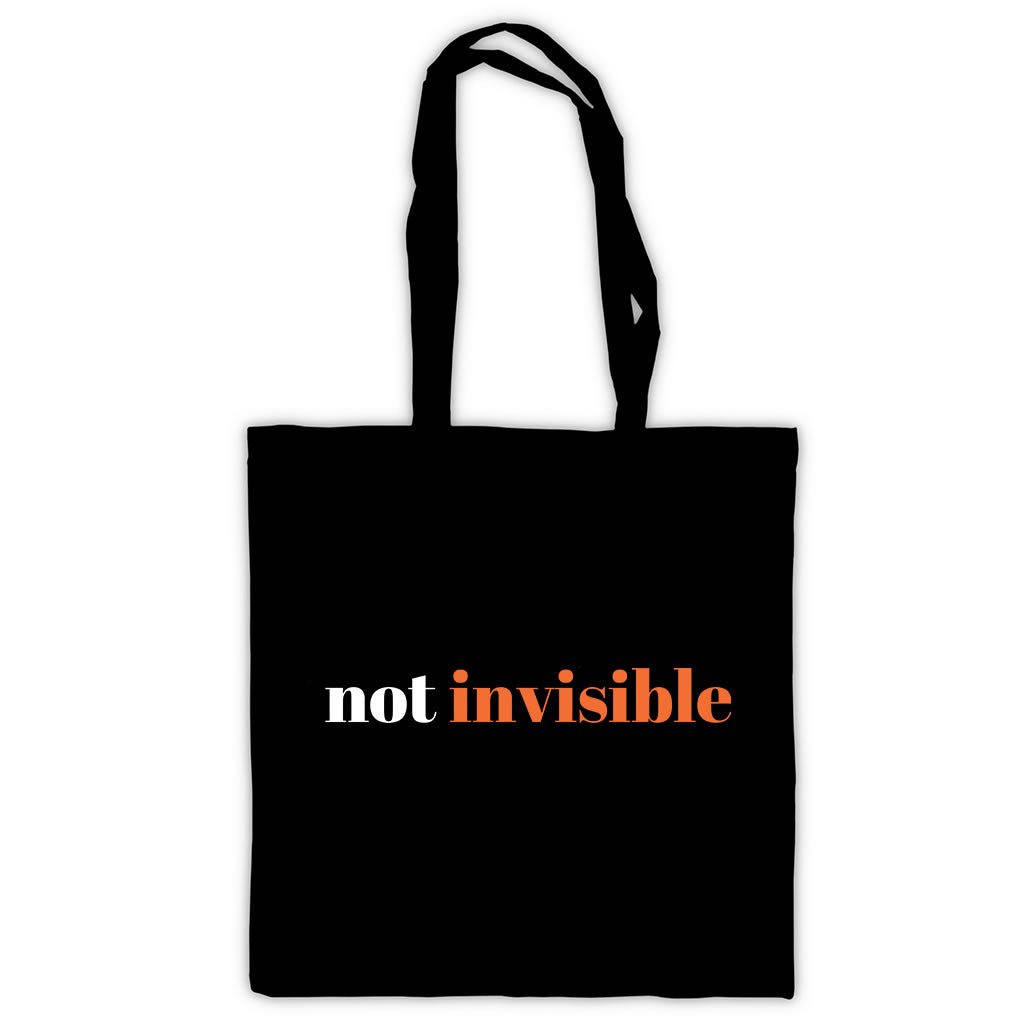 Not Invisible  Tote Bag