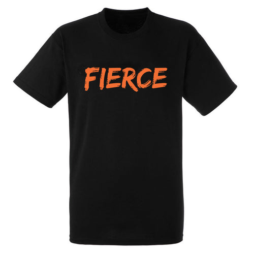 FIERCE Heavy Black Cotton T-Shirt