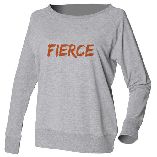 FIERCE Grey Slouch Sweatshirt