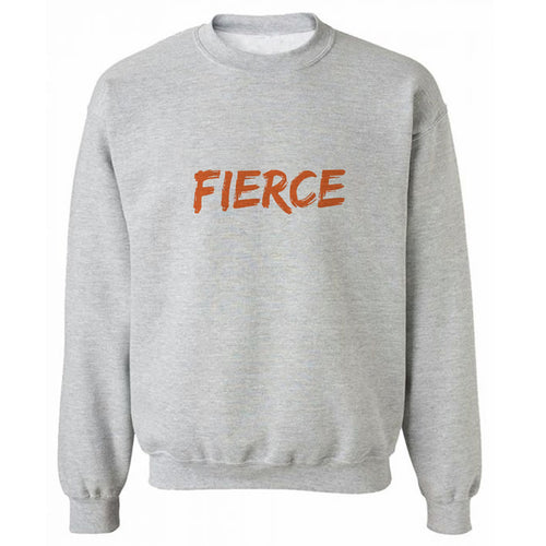 FIERCE Grey Heavy Blend Sweatshirt