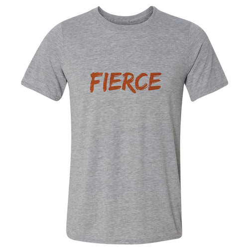 FIERCE Heavy Grey Cotton T-Shirt