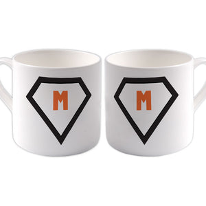 M Big Bone China Mug