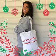 Naughty List  Tote Bag (Lifestyle)