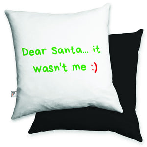 Dear Santa Cushion