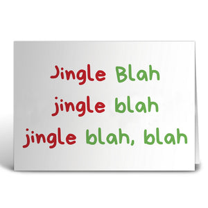 Jingle Greeting Card