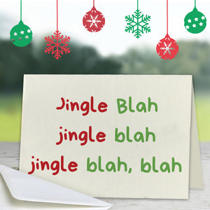Jingle Greeting Card (Lifestyle)