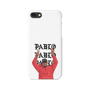 White TLOP Pablo Kanye West YEEZY iPhone Case